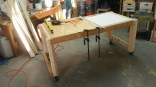 Building a new work table (February)