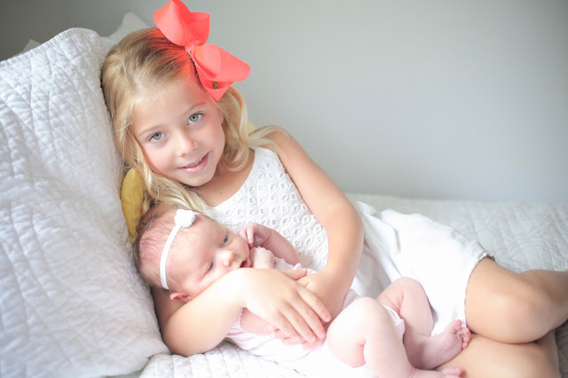Amy West introduces her new daughter London