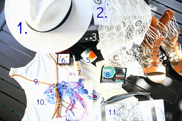 Amy West's travel must haves