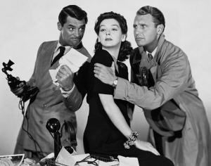 Cary Grant and Friends Promoting Content by Radio