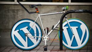 WordPress branded bike