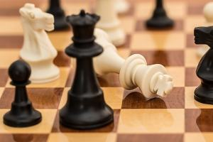 Image of chess to depict strategy.
