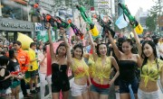 Water Gun Festival Korea Sinchon Girls