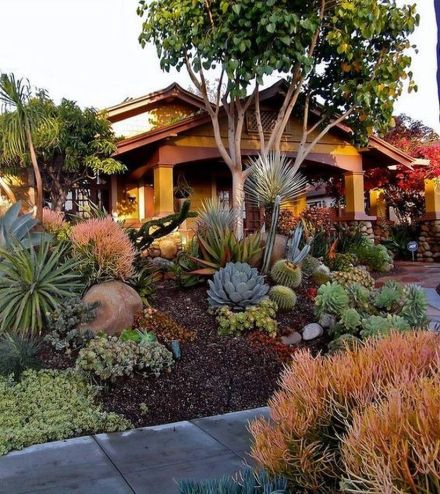 Texas Style Front Yard Landscaping Ideas 27