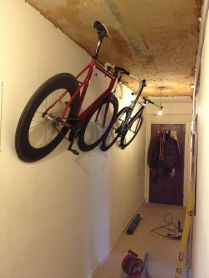 90 Brilliant Ideas to Make Hanging Bike Storage 15