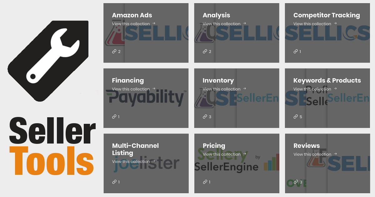 Amazon Seller Tools