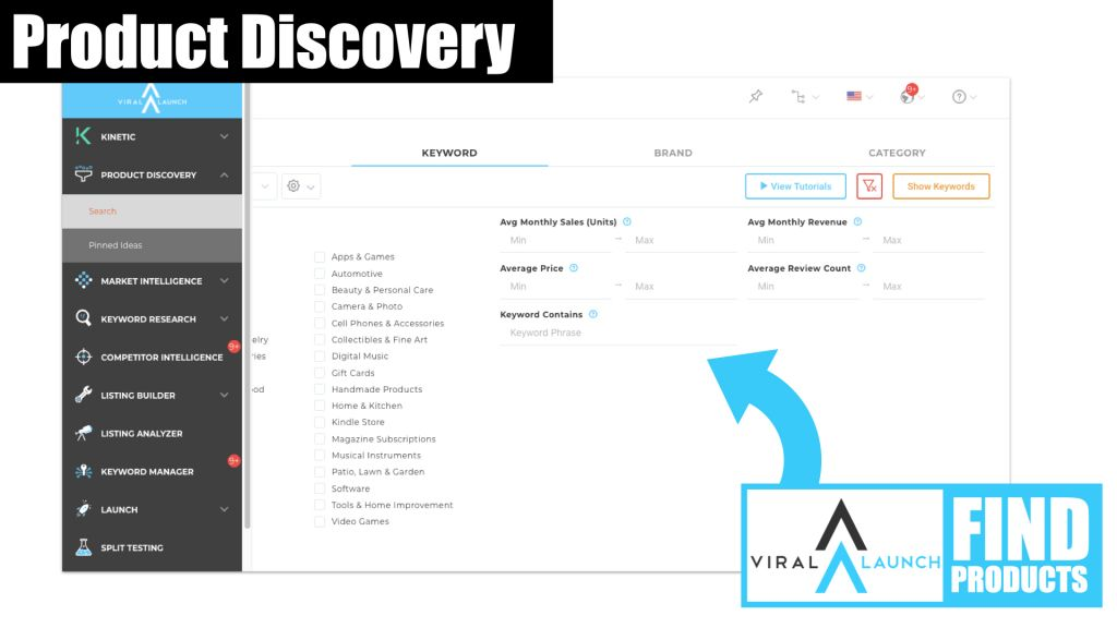 Viral Launch Amazon Product Discovery 1