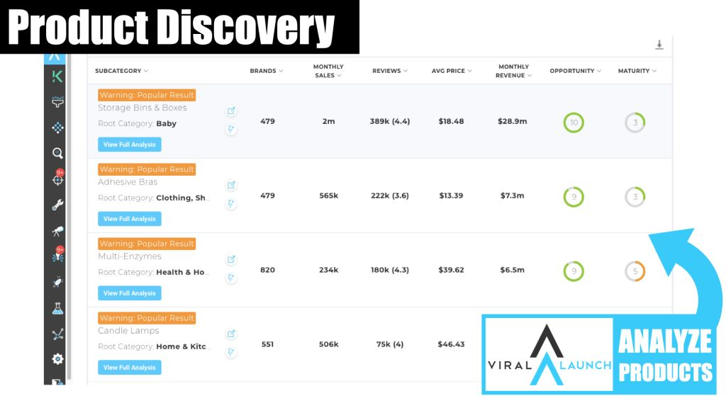 Viral Launch Amazon Product Discovery 3
