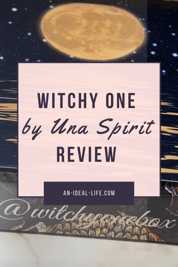 Witchy One by Una Spirit Spiritual Subscription Box Review