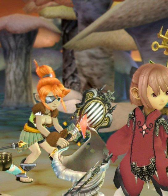 لعبة Final Fantasy Crystal Chronicles تصدر قريبًا!