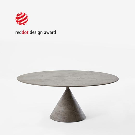 TAVOLO CLAY MARC KRUSIN RED DOT AWARD