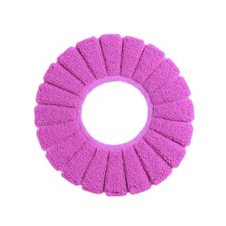 Comfortable Velvet Coral Toilet Seat Cover Standard