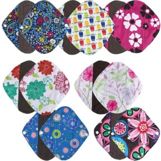 Reusable Bamboo Cloth Washable Women Menstrual Pad