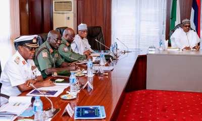 Buhari Summons Service Chiefs Over Ambush Of Soldiers