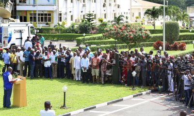 Video: Full Details Of What Ambode Said At World Press Conference
