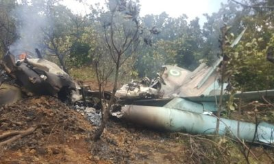 Two Nigerian Military Jets Crash In Abuja