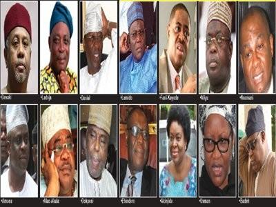 Full List Of 50 Prominent Nigerians On Buhari's Travel Ban