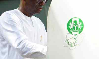 What Sanwo-Olu, Hamzat Said About INEC After Casting Their Votes
