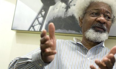 What Wole Soyinka Said ABout Onnoghen's Suspension