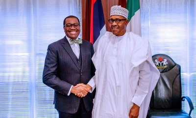 What Buhari Discussed With AfDB President In Aso Rock