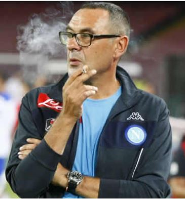 Maurizio Sarri has been charged with misconduct following his dismissal from the touchline in the closing stages of Chelsea's draw against Burnley.