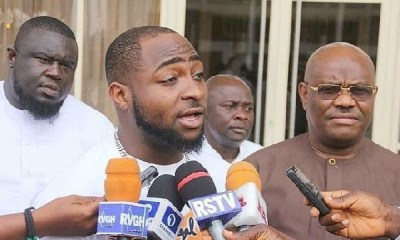 Popular Nigerian Musician, Davido has urged Governor Gboyega Oyetola of Osun State to accept his defeat at the Governorship election petitions tribunal.