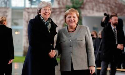 German Chancellor Angela Merkel will host Theresa May for talks on Tuesday, on the eve of a crucial EU summit when the British premier is hoping to convince the bloc to grant her a new Brexit extension to June 30.