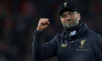 Liverpool manager Jurgen Klopp said Premier League title rivals Manchester City are currently the best team in the world but there is no guarantee Pep Guardiola's side will finish the season with an unprecedented quadruple.