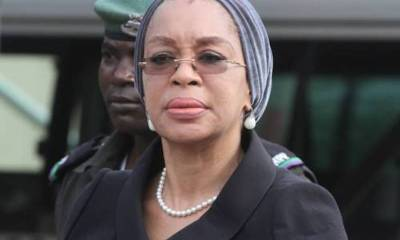 There was mild drama at the premises of an Ikeja High Court as officials of the Economic and Financial Crimes Commission (EFCC) apprehended Justice Rita Ofili-Ajumogobia, a dismissed judge of the Federal High Court after corruption charges against her was struck out.