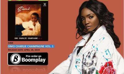 "In the birthday mood Nigerian singer and songwriter Simisola Ogunleye, popularly known by her stage name Simi, has decided to drop her new album ""Omo Charlie Champagne""."