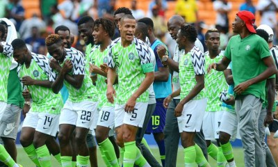 Super Eagles, three times African champions who earned wins against Seychelles and Egypt have pushed their rank to third place moving up four places to fourty-two in the FIFA updated ranking.