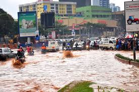 Heavy rains have hit eastern Uganda destroying homes and crops, and leaving 17 children and one adult dead, the Red Cross says.