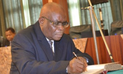 The Code of Conduct Tribunal (CCT) on Thursday convicted the suspended Chief Justice of Nigeria (CJN), Walter Onnoghen, and has banned him from holding any public office for 10 years.