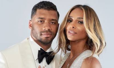 American singer and dancer, Ciara sang the praise of her footballer husband, Russell Wilson after he re-signed a contract with the football team, Seattle Seahawks.