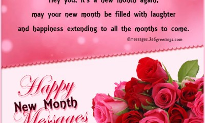 100 Happy New Month Messages, Wishes, Prayers For May 2019