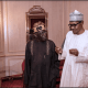 Ramadan: Tinubu Meets Buhari In Aso Rock, Breaks Fast (Photos)