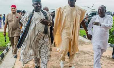 See Twitter Reactions About How Fayose Welcomed Okorocha To 'EFCC Alumni'