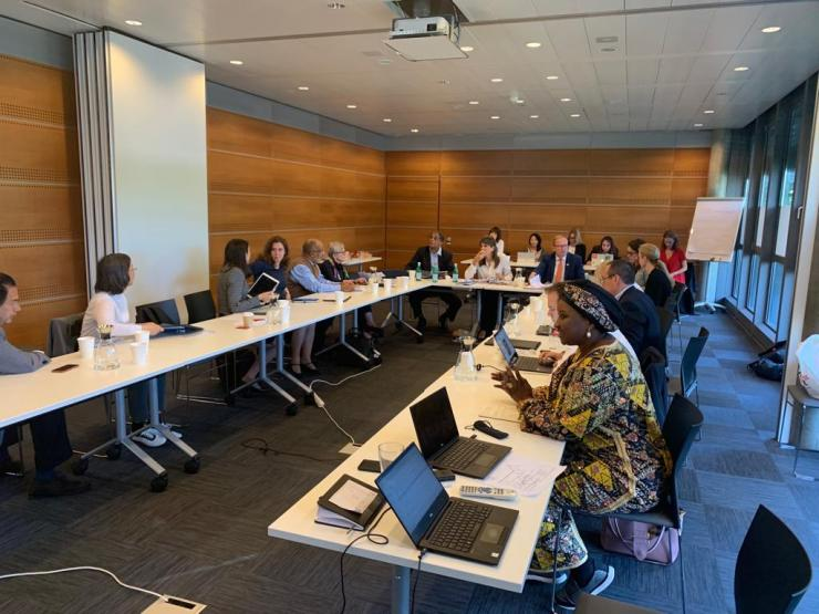 Her Excellency Dr Zainab Shinkafi Bagudu yesterday attended the Union for International Cancer Control Board meeting in Geneva, Switzerland.