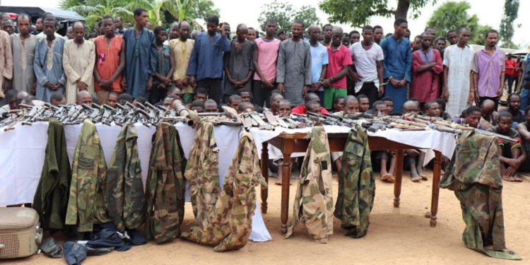 A report obtained by Africa News24 (AN24) has it that the Nigerian Police Force (NPF) on Thursday arrested 93 suspected kidnappers in different parts of North Central, North East and North West Zones of the country during Operation Puff Adder.