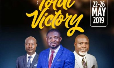 """Treasureland Ministries International, an interdenominational church will on May 22-26 2019 host a five day ministration tagged 'Operation Jericho' with the theme """"Total Victory""""."""