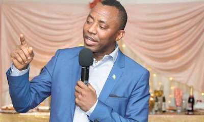 The African Action Congress on Monday announced the suspension of its presidential candidate in the 2019 general election, Omoyele Sowore; and eight others, including its Deputy National Chairman (South West), Ogunlana Rotimi Jacob, for a period of six months over alleged anti-party activities.