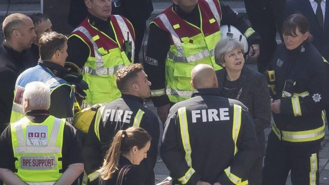 """Theresa May has been labeled """"disgraceful"""" by the Fire Brigades Union (FBU) for citing her response to the Grenfell fire disaster as a proud part of her legacy."""