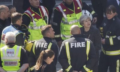 "Theresa May has been labeled ""disgraceful"" by the Fire Brigades Union (FBU) for citing her response to the Grenfell fire disaster as a proud part of her legacy."