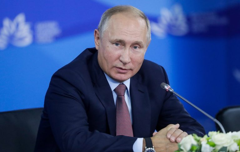 Russian President Vladimir Putin signed a federal law to suspend the Intermediate-Range Nuclear Forces (INF) Treaty, an arms control treaty between the U.S. and the Soviet Union (and its successor state, the Russian Federation).