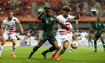 Nigeria's Under-20 national team, the Flying Eagles on Monday lost 0-2 to their United States of America counterparts at the ongoing World Cup in Poland.