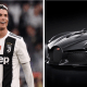 Juventus ace, Cristiano Ronaldo dos Santos Aveiro GOIH ComM, has reportedly bought the world's most expensive car, a Bugatti brand named La Voiture Noire, recently unveiled by a French luxury company at the Geneva Motor Show in March.