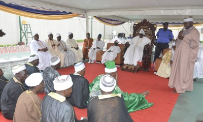 The Oba of Lagos, Oba Riliwan Babatunde Akiolu took a swipe on former President of the Federal Republic of Nigeria Chief Olusegun Obasanjo during a special prayer yesterday begged God to givelonger life in pains and agony for the evil he has caused in the nation.