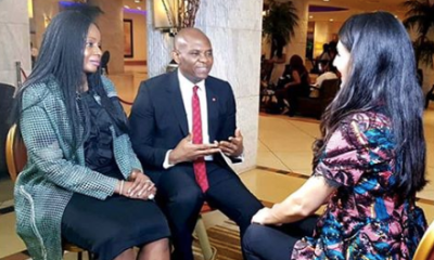 Tony Elumelu, Founder, The Tony Elumelu Foundation and wife, Awele Vivian Elumelu, explain how they're aiming to create millions of jobs in a decade by focusing on funding for startups and entrepreneurs.
