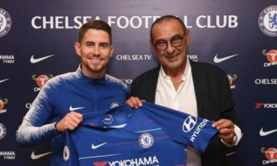 Chelsea midfielder Jorginho is set to quit the club less than 12 months after moving to Stamford Bridge in order to reunite with Maurizio Sarri at Juventus.