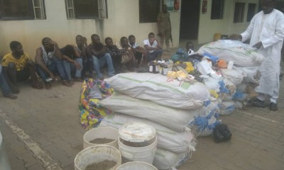 The Edo Command of the National Drugs Law Enforcement Agency (NDLEA) says no fewer than 362 suspects were arrested for illicit drugs use and trafficking between June 2018 and May 2019.